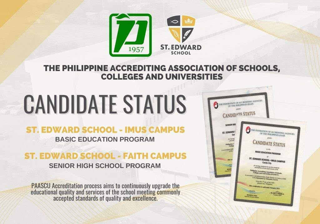 PAASCU lauds St. Edward's curriculum emphasizing community integration, promotion of love for reading